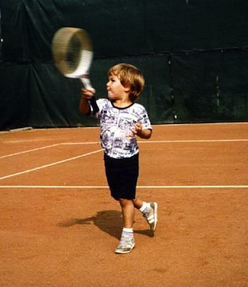 Federer-childhood-tennis